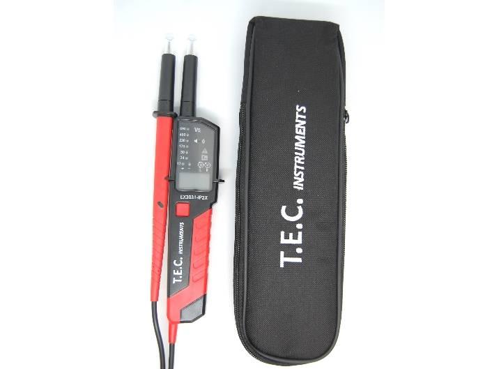 Kshzmoto Testeur de prise AC11 D/étecteur de fuite /électrique Affichage LCD Fil de terre Ligne z/éro Phase de fil sous tension Electroscope /électrique multifonctionnel RCD Testeur /électrique NCV D/étecte
